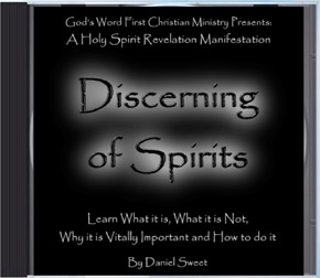 Discerning of Spirits Bible Study CD