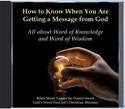 Word of Knowledge and Word of Wisdom Audio CD