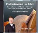 Understanding the Bible Audio CD