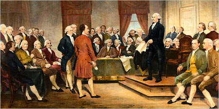 Founding Fathers with had Godly Christian Values