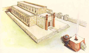 Drawing of King Solomon's Temple