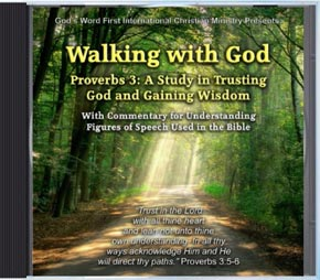 Walking with God Audio CD